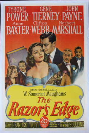 The Razor's Edge: Somerset Maugham « What I have been reading