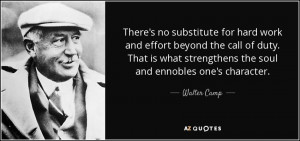 Walter Camp Quotes