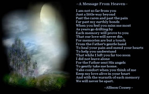 Birthday Poems For Mom In Heaven