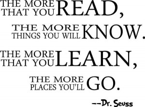 Learning, quotes, sayings, motivational, dr seuss