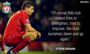 Steven Gerrard post-Basel quotes