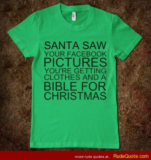 facebook pictures You re getting clothes and a Bible for Christmas