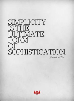 da vinci, leonardo, quote, sophistication, text