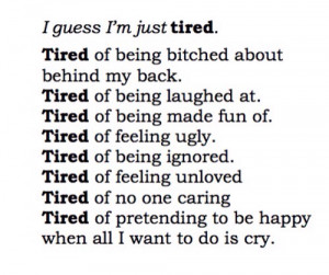 terrified of having an emotional breakdown someday soon.
