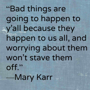 Mary Karr, Poet and Memoirist