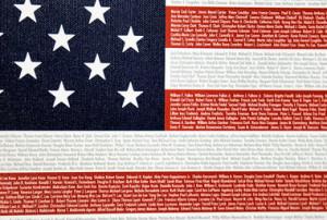 11 Memorial Flag