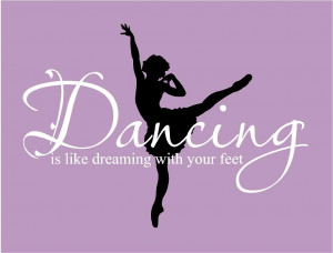 Ballet Dance Quotes Big ballet dancing is like