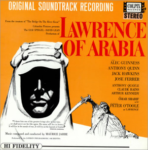 Maurice Jarre Lawrence Of Arabia Stereo UK vinyl LP album LP record