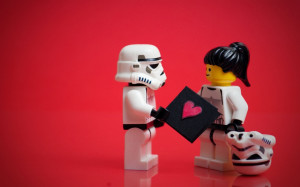 ... collection of Lego star wars minifigures in funny poses and settings