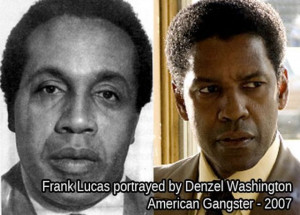 Frank Lucas... known as a U.S. Government Agent