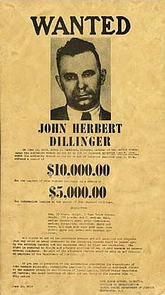 John Dillinger Artifacts