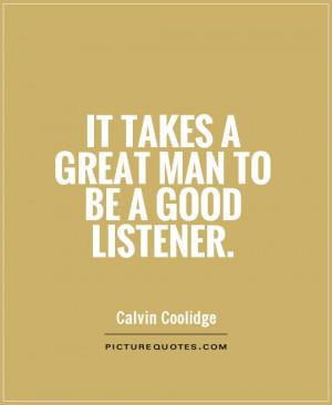 Good Listener Quotes