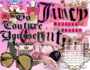 Juicy Couture Collage Image