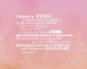creativemonsoon › Portfolio › I believe in pink