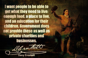 Davy Crockett Quotes Government