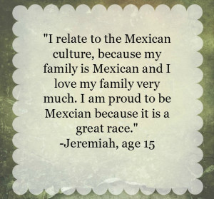 Proud To Be Mexican Quotes In Spanish I am so, so proud that my son