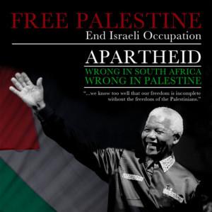 islamic-quotes:Nelson Mandela about Palestine