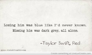 ... , quote, quotes, red, song, taylor swift, taylor swift red, vintage