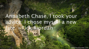 Annabeth Chase Quotes