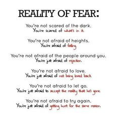 overcoming fear quotes | ... -off: What's Your Biggest Fear ...