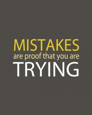 Inspirational Quotes about Mistakes