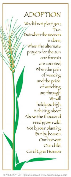adoption poem