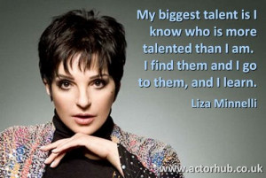 Inspirational and Motivational Quote from Broadway Legend Liza ...