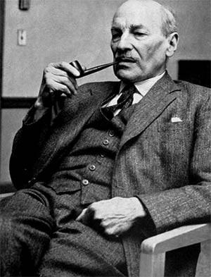 Attlee in 1957