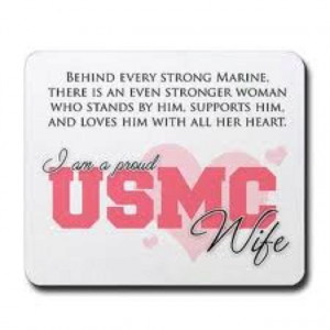 USMC Wife...hopefully sometime soon ;)