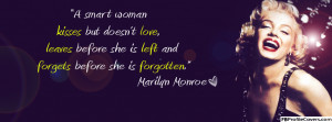 Marilyn Monroe Quote Facebook Cover Timeline