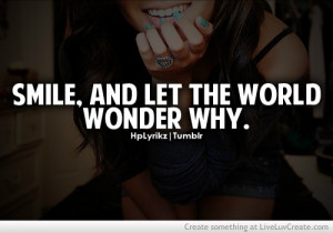 advice, cute, inspirational, life, love, pretty, quote, quotes, smile ...