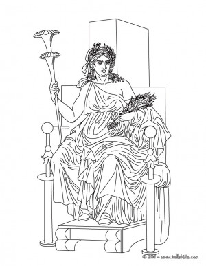 greek goddess gaia coloring pages | Demeter Greek Goddess Quotes. QuotesGram