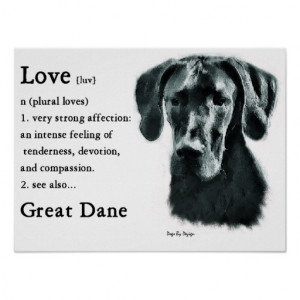 Great Dane Gifts Posters