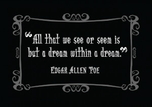 Quotes About Life And Fortune: Influences Quote By Edgar Allan Poe ...