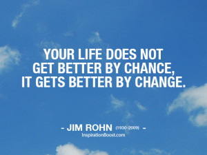 quotes about change in how to change life for the better