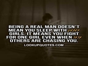 Quotes About A Real Man