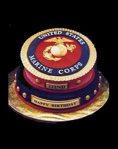 marine corps birthday cake more military cake motivation marines ...