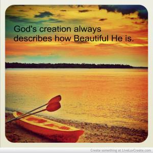 Beautiful God