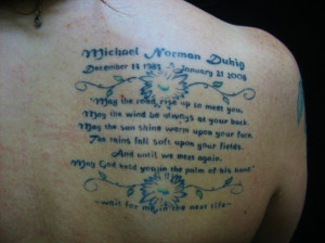 Memorial Tattoos for Loved Ones