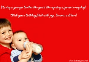 Birthday Brother Quotes Little Rother Kootation Funny Doblelol