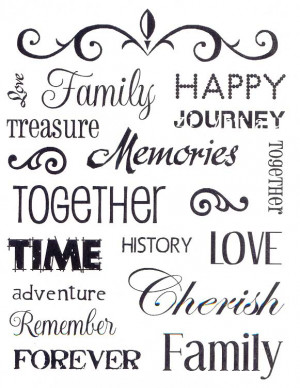 Pictures Gallery of quotes about family love