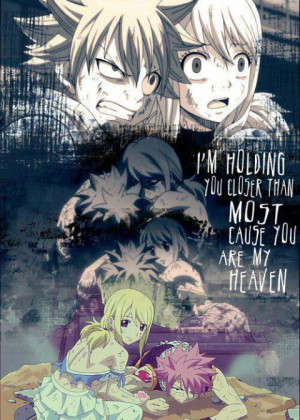 FAIRY TAIL Lucy Heartfillia Natsu Dragneel quotes