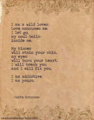 am yours.