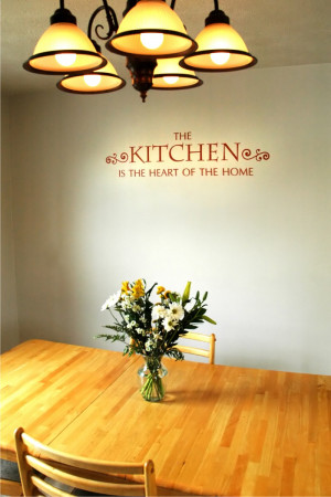 we love this kitchen wall quote and i especially love it here doesn t ...