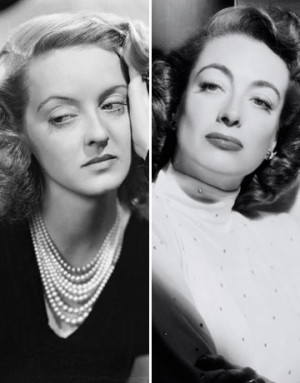 Bette Davis and Joan Crawford (Photo via Wikipedia)