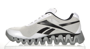 Reebok Zig Pulse – White/Black/Silver (Finish Line Exclusive)