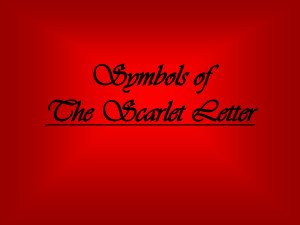an analysis of symbolism in the book the scarlet letter The scarlet letter - analysis  analysis term papers, the scarlet letter - analysis research paper, book reports  the scerlet letter symbolism can be used to.