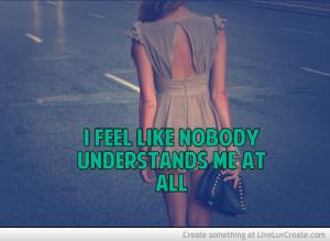 Feel Misunderstood