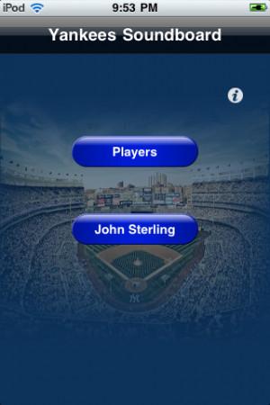 Yankee Baseball Quotes http://appfinder.lisisoft.com/app/yankees ...