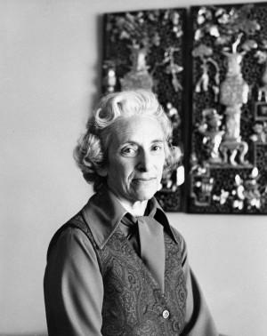 Barbara Tuchman uma das mais conceituadas historiadoras americanas